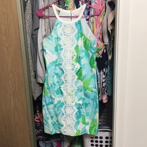 Lilly Pulitzer first impression shift dress size 6